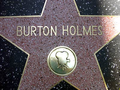 Holmes' Hollywood Blvd. star